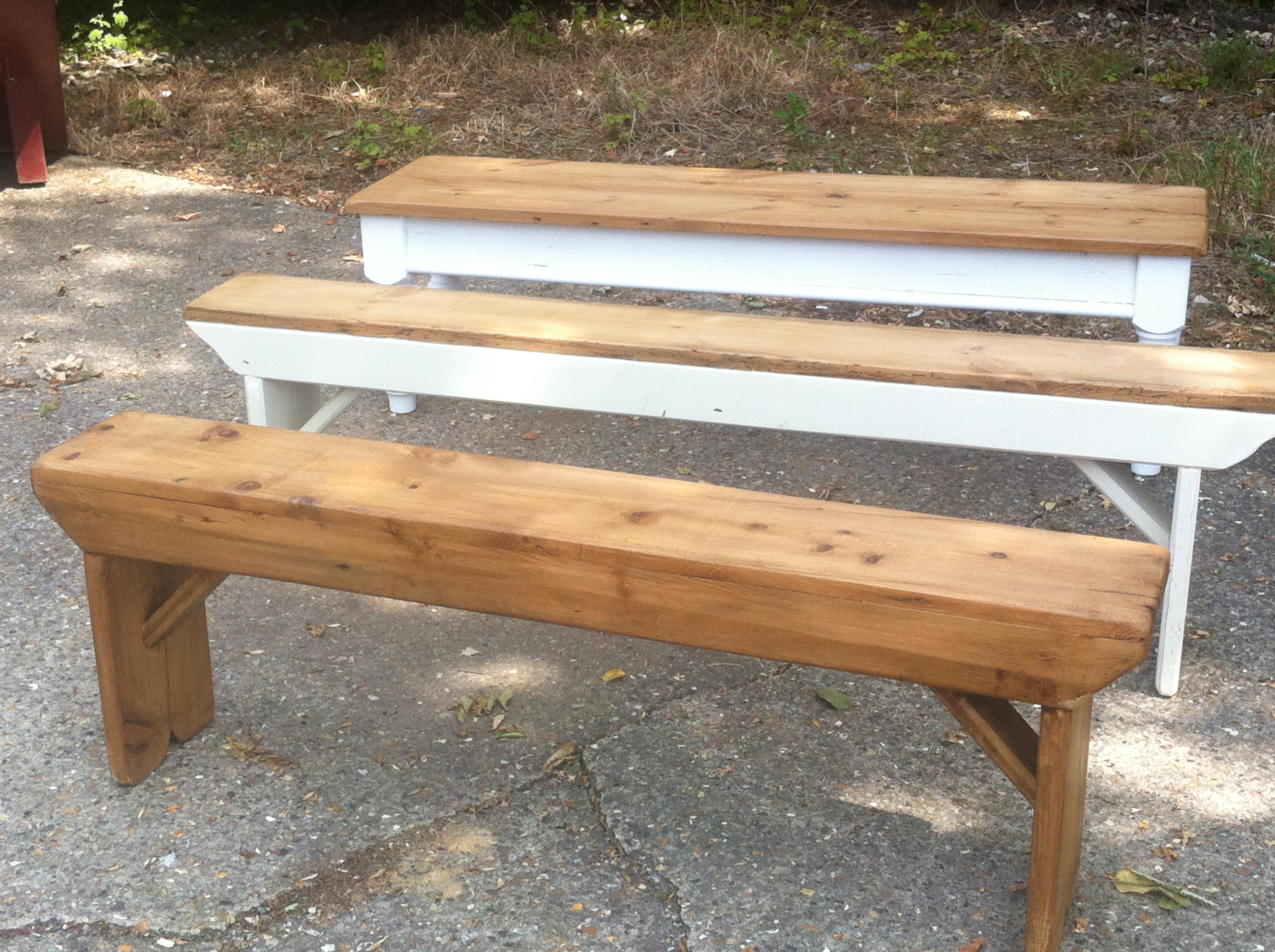 Benches Table And Bench Company