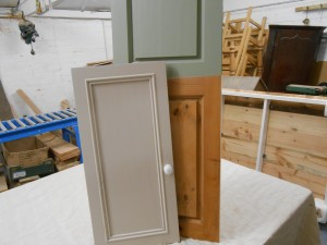 Refurbished cupboard doors