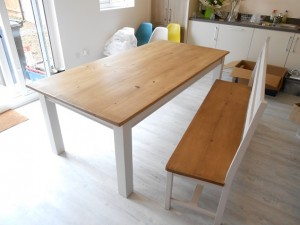 Table and bench up to end 2015 048