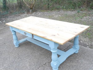 Table and bench up to end 2015 143