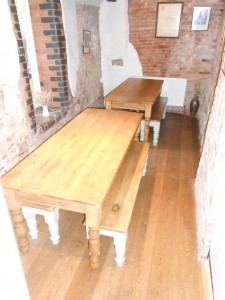 table and bench 2